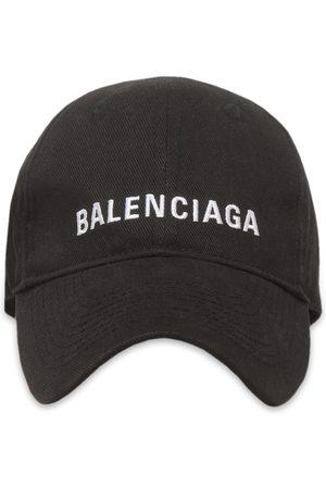 Balenciaga Women Hats - Embroidered logo baseball hat