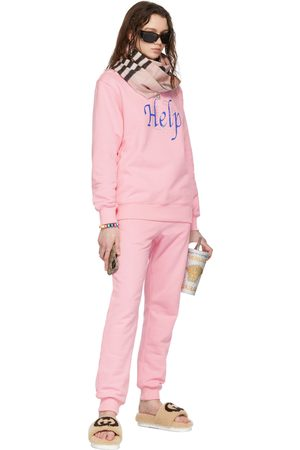 I'm Sorry by Petra Collins SSENSE Exclusive 'Help' Sweatshirt & Lounge Pant Set