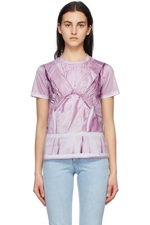 Moschino Pink Inside Out Trompe-l'ail T-Shirt