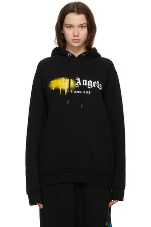 Palm Angels Sprayed Logo 'Los Angeles' Hoodie