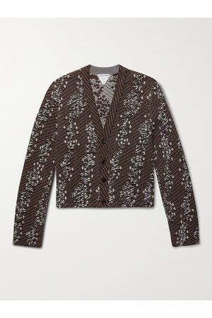 Bottega Veneta Men Cardigans - Slim-Fit Bouclé Cardigan