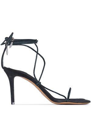 Isabel Marant Women Sandals - Askee 95mm suede sandals