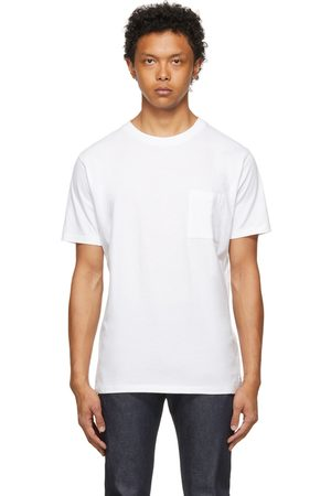 Men Short Sleeve - Levi's Made & Crafted White Pocket T-Shirt