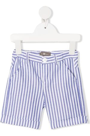 LITTLE BEAR Baby Shorts - Stripe-print shorts