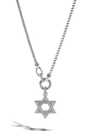 John Hardy Men Necklaces - Classic Chain Small Star of David pendant necklace