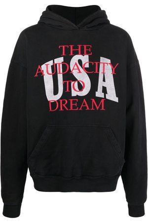 Rhude Men Sweatshirts - Dreamers cotton hoodie