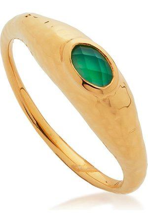 Monica Vinader Deia gemstone ring