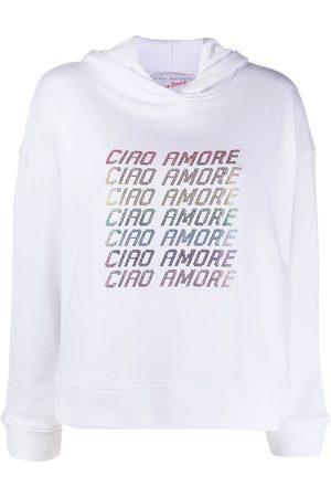 GIADA BENINCASA Ciao Amore slogan hoodie