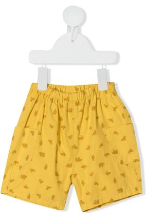 KNOT Baby Shorts - Cargo animal-print shorts
