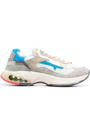Premiata Sharky colour-blocked sneakers