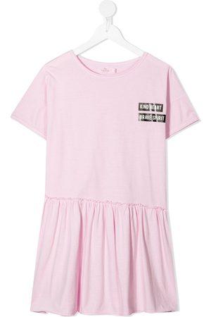 Le pandorine Pleated skirt T-shirt dress