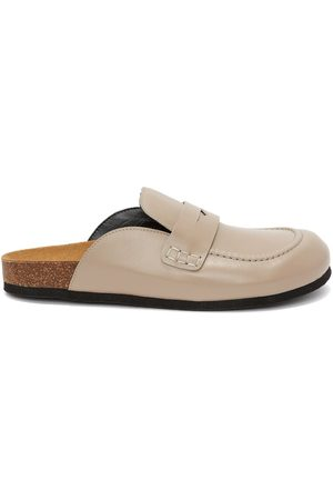 J.W.Anderson Leather loafer mules