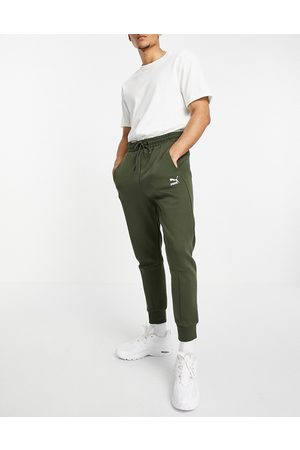 Puma Classics Tech sweatpants in forest