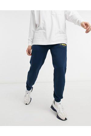 Mennace Club est joggers in blue