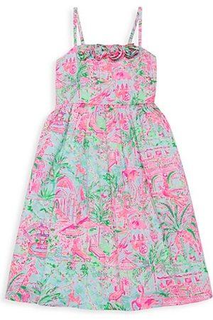 Lilly Pulitzer Little Girl's & Girl's Bellamy Print Midi Dress