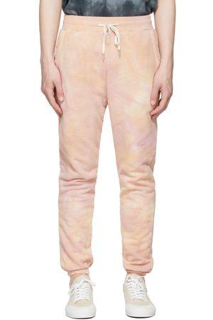 John Elliott Pink Tie-Dye LA Lounge Pants