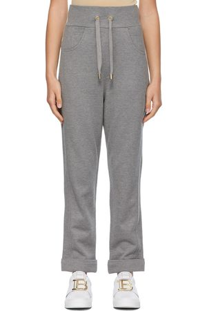 Balmain Embossed Monogram Lounge Pants