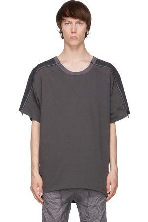 Blackmerle Zip Panel T-Shirt