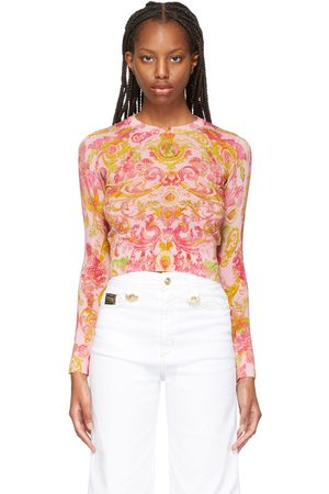 Versace Jeans Couture Pink Versailles Sweater