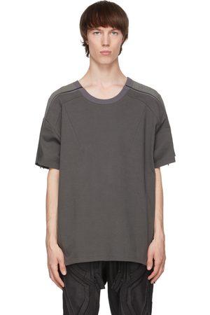 Blackmerle Green Zip Panel T-Shirt