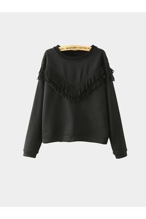 YOINS Fringed Sweatshirt