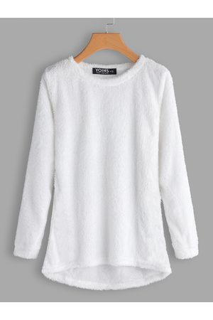 YOINS Round Neck Long Sleeves Sweater