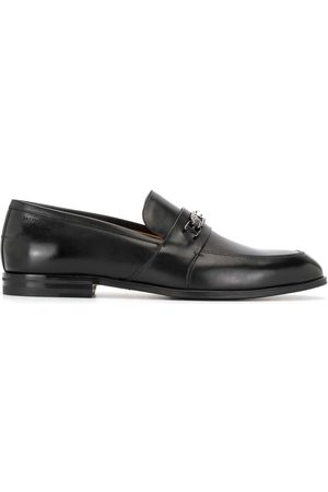 Bally Men Loafers - Logo-plaque leather loafers