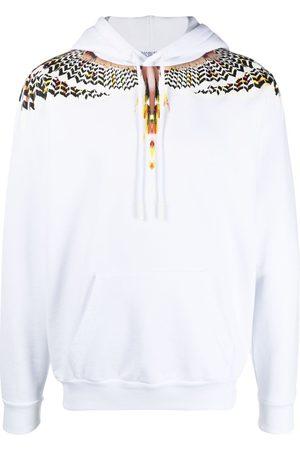 MARCELO BURLON Wings-print hoodie