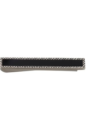 Dolce & Gabbana 18kt white gold diamond tie pin