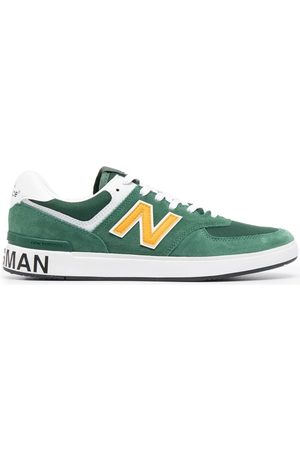 JUNYA WATANABE Logo-patch low-top sneakers