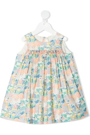 BONPOINT All-over print dress