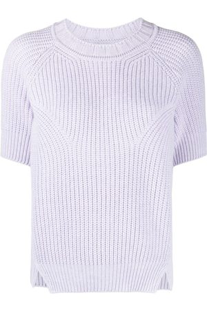 Barrie Ribbed-knit top