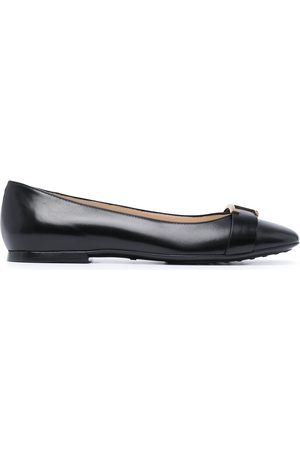 Tod's T Timeless ballerina shoes