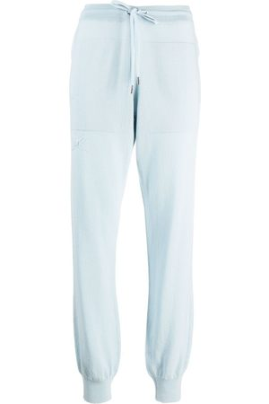 Barrie Drawstring waist jogging trousers