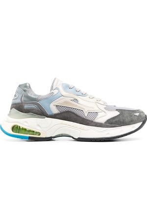 Premiata Sharky colour-block sneakers