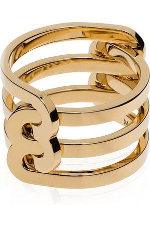Jem Women Rings - 18K yellow triple-band ring