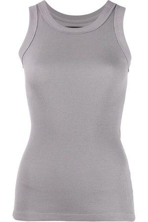 Styland Ribbed-knit cotton vest