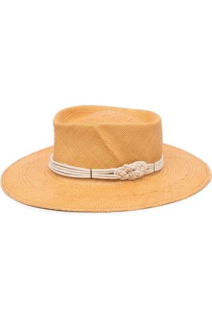 GLADYS TAMEZ MILLINERY Harlow woven hat