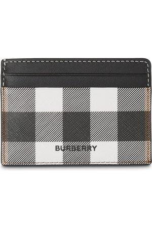 Burberry Check print cardholder