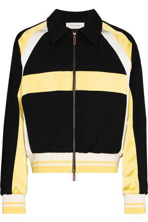 WALES BONNER Isaacs panelled bomber jacket