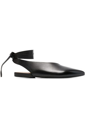 MARSÈLL Pointed leather sandals