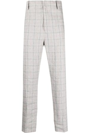Isabel Marant Plaid tailored trousers