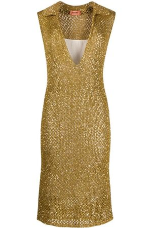 Missoni Sequin-embellished knitted dress
