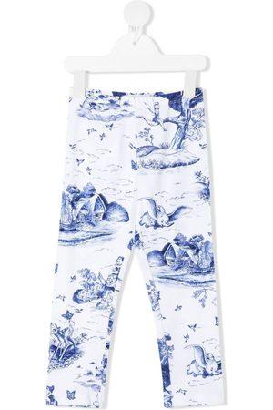 MONNALISA Disney-print leggings