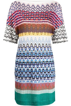Missoni Striped knitted mini dress