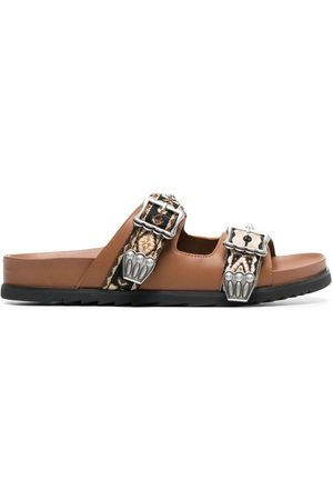 Ash Ulysse studded slide sandals