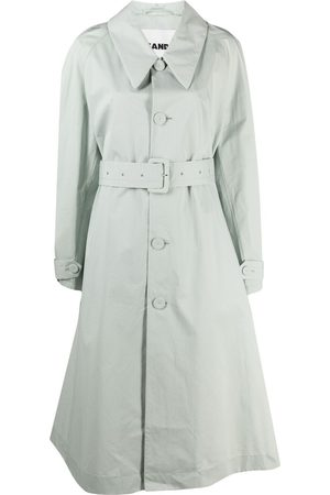 Jil Sander Belted A-line trench coat