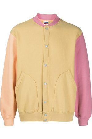 Levi's Fleece colour-block bomber jacket