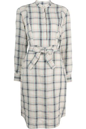 A.P.C. Raquel check shirt dress