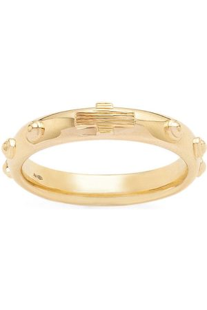 Dolce & Gabbana 18kt yellow studded band ring